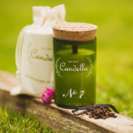 Candella - No 7 # Spicy Vanilla Candle